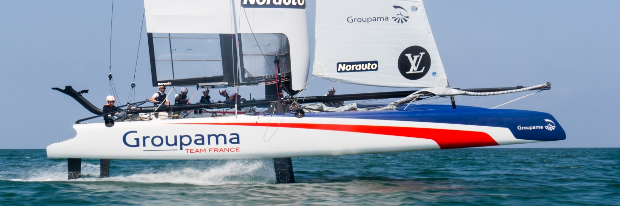 Groupama Team France - 35th America's Cup